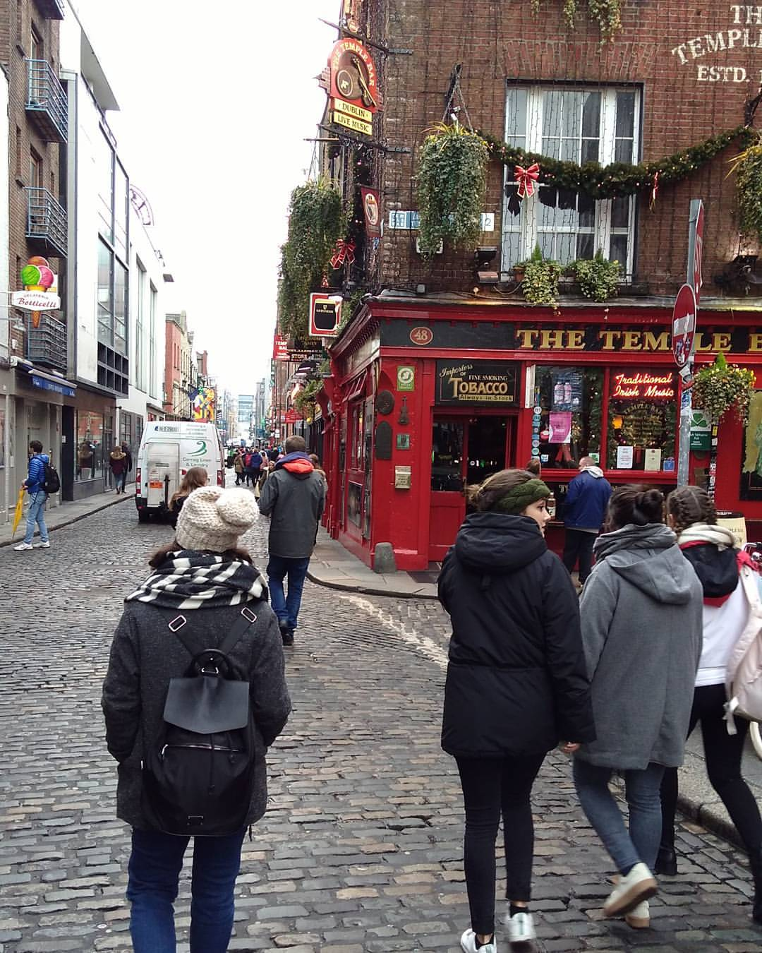 Empezando su aventura en Dublin
